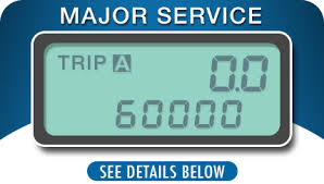 60K service, scheduled service in Moses Lake, WA